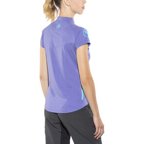 Endura SingleTrack Lite Maillot de cyclisme à manches courtes Femme, cobaltblue